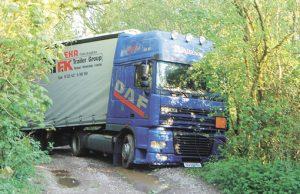 lorry-stuck